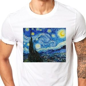Other - The Starry Night Vincent Van Gogh T Shirt mens